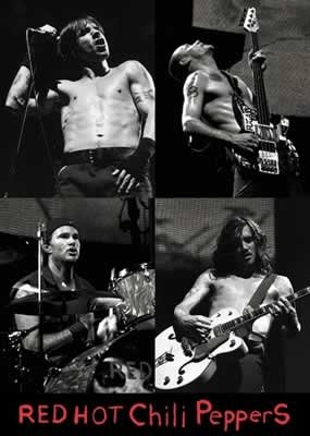 Red Hot Chili Peppers Poster 2
