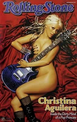 Christina Aguilera Rolling Stones Magazine Cover Poster