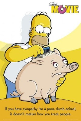 The Simpsons Movie - Spider Pig Movie Poster
