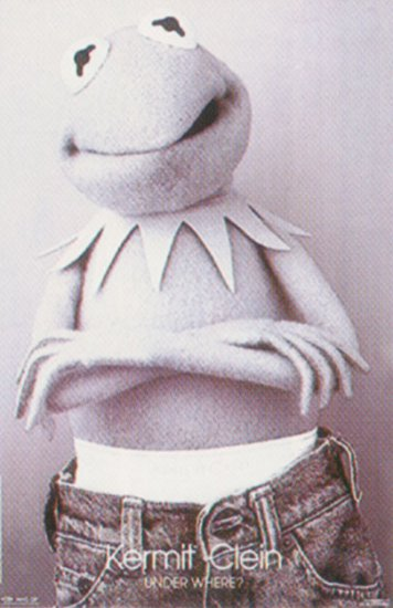 The Muppets - Kermit Clein, Under Where? Poster