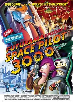 Futurama - Space Pilot 3000 Poster