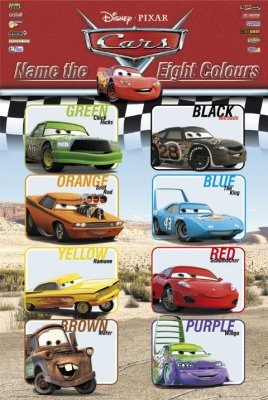 Cars Movie Poster 4