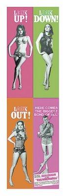 James Bond - Thunderball Mini Door Movie Poster