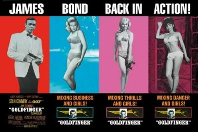 James Bond - Goldfinger Movie Poster