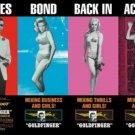 James Bond - Goldfinger Movie Poster