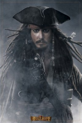 Pirates Of The Caribbean 3 - Jack Sparrow Poster