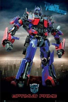 Transformers - Optimus Prime Movie Poster