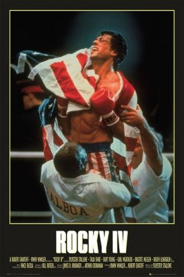 ROCKY IV Movie Poster