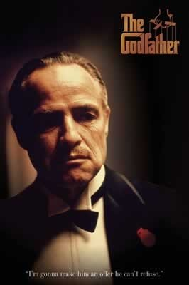 The Godfather Movie Poster 3
