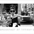 Breakfast At Tiffany's Mini Door Movie Poster