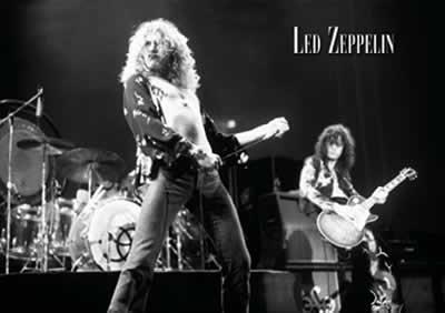 Led Zeppelin Music Poster