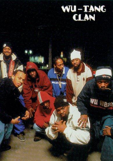 Wu-Tang Clan Music Poster