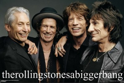 The Rolling Stones - A Bigger Bang Poster