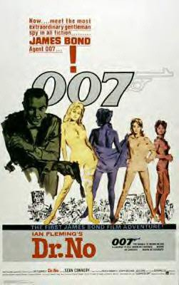 James Bond - Dr. No Movie Poster