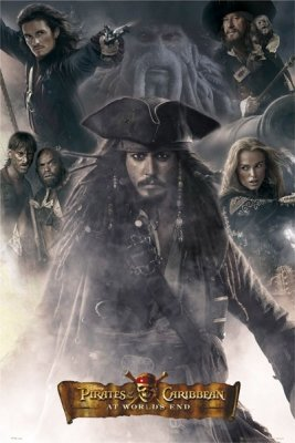 Pirates Of The Caribbean 3 Movie Poster