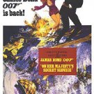 James Bond - On Her Majesty's Secret Service Movie Poster