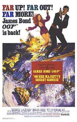 James Bond - On Her Majesty's Secret Service Movie Poster