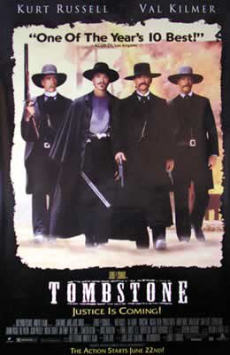 Tombstone Movie Poster