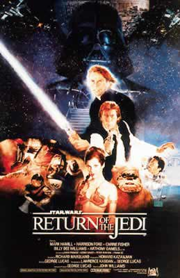 Star Wars Episode VI - Return Of The Jedi Movie Poster