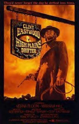 High Plains Drifter Movie Poster
