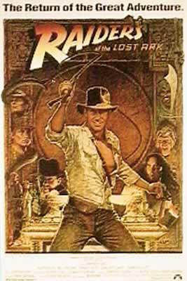 Indiana Jones & Raiders Of The Lost Ark Movie Poster