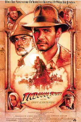 Indiana Jones And The Last Crusade Movie Poster