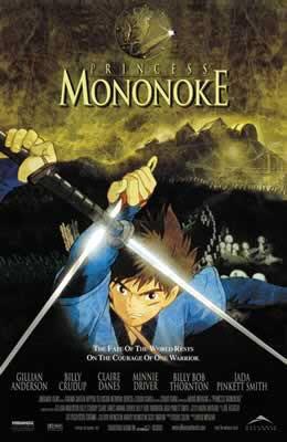 Princess Mononoke Movie Poster
