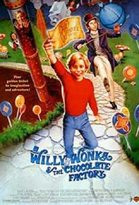 Willy Wonka & The Chocolate Factory Movie Poster (1971)