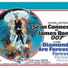 James Bond - Diamonds Are Forever Movie Poster