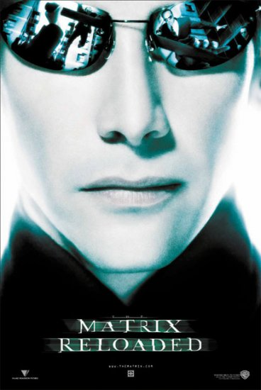 The Matrix Reloaded - Neo Movie Poster
