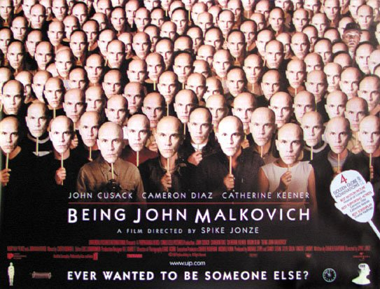 Being John Malkovich Movie Poster 2