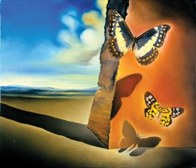 Salvador Dali Poster (Papillon Butterflies)