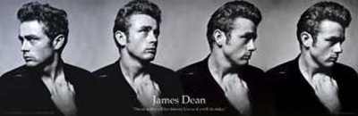 James Dean Mini Door Poster