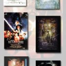 STAR WARS EPISODE I, II, III, IV, V, VI Movie Poster Set