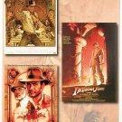 Indiana Jones Movie Poster Set