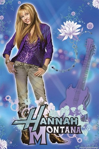 Hannah Montana (Miley Cyrus) Poster 2