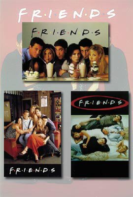Friends TV Show Poster Set