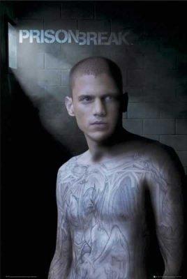 Prison Break - Michael Scofield TV Show Poster