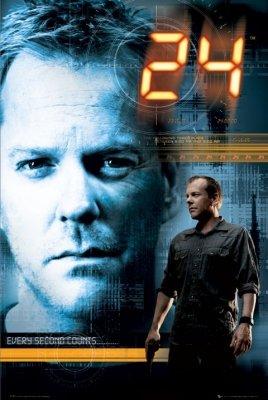 24 - Twenty Four TV Show Poster