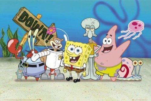 SpongeBob SquarePants TV Show Poster