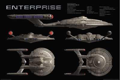 Star Trek - Enterprise Poster