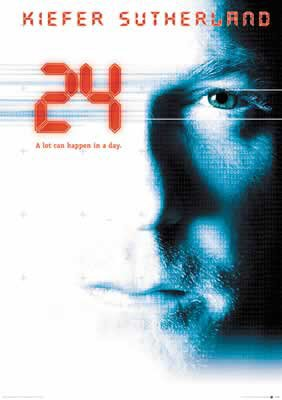 24 - Twenty Four TV Show Poster 2