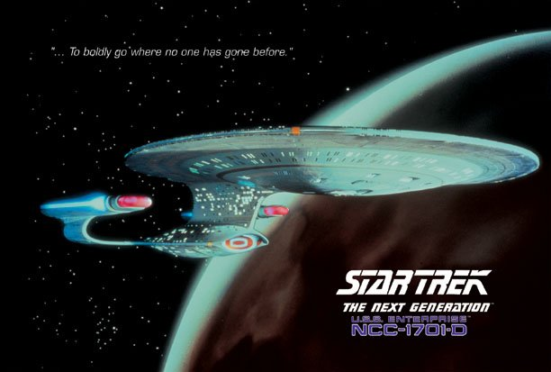 Star Trek - The Next Generation Poster 2
