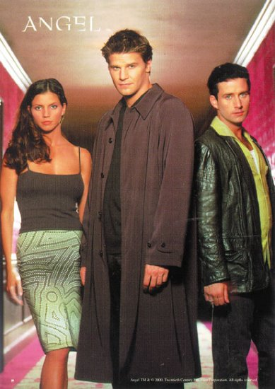 Angel TV Show Poster