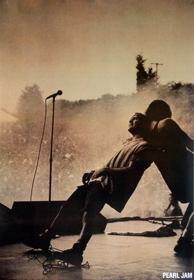 Pearl Jam Giant Poster