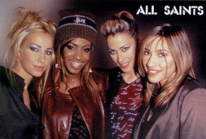 All Saints Music Poster