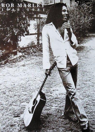 Bob Marley Music Poster