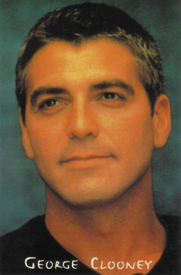 George Clooney Poster