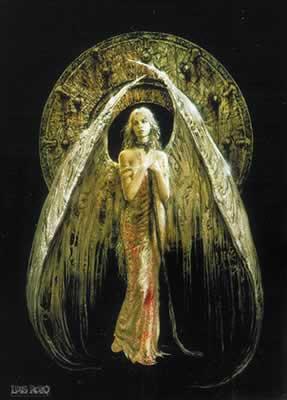 White Angel - Luis Royo Poster