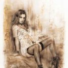 Alone - Luis Royo Poster